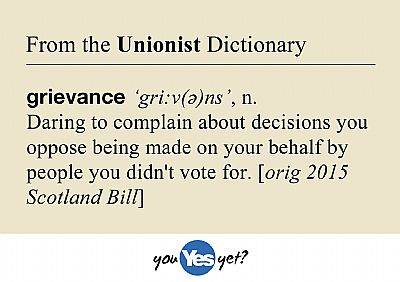 grievance definition according to unionists