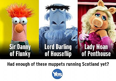 had enough of these muppets running scotland yet?