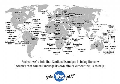and yet we're told scotland is unique in being the only former-uk country unable to manage its own affairs