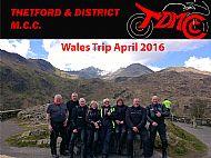 Wales Trip April 2016