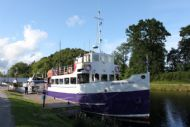 Still afloat on the Caledonian Canal