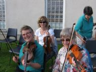 The Inverness girls fiddle team
