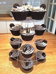Oreo overload cupcakes