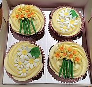 Spring themed Mother's Day Cupcakes