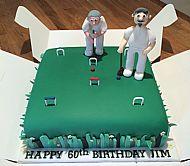 60th Croquet Cake