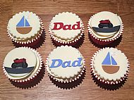 Gluten free Father's Day cupcakes