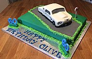 Thunderbird Car Cake