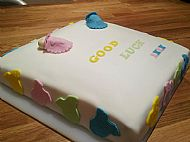 Maternity Leave Cake