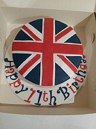 Union Flag Cake