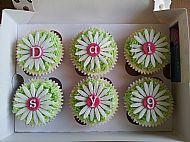 Daisy Birthday Cupcakes