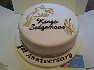 Equestrian Centre Cake