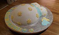 Maternity Leave Cake