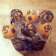 50th Cake Pops