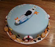 21st Kayak Cake
