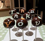 Thank You Cake Pops