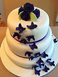 Purple Butterfly Wedding