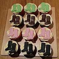 Charity Welly Cupcakes