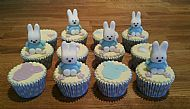 Baby Shower Miffy cupcakes