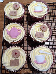 Afternoon Tea Cupcakes