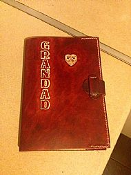 Personalised Diary Cover