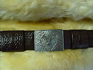 Kilt Belt with Buckle