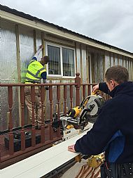 Preparing a home for cladding