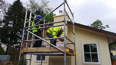 Park Home Redfurbishment Insulation Fences And Decking Lodge Operations