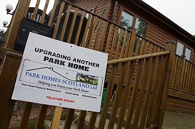Park Home Redfurbishment Insulation