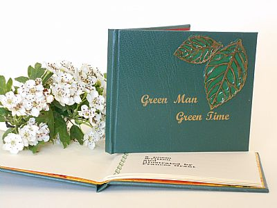 green man. celebratory poem of the may by frances grant