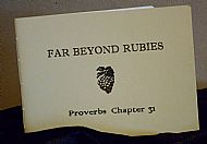 Far Beyond Rubies