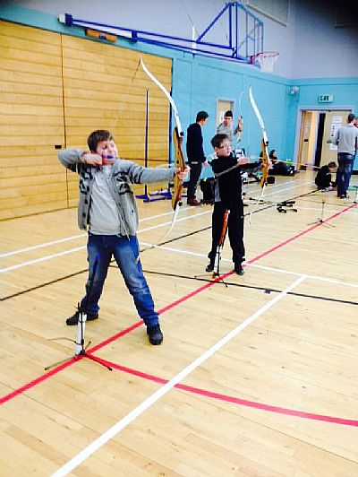 skye archery delivered at the high school