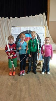 skye archery delivered at portree community centre