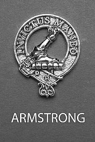 Clan Armstrong Brooch