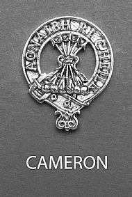 Clan Cameron Brooch