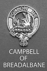 Clan Campbell of Breadalbane Brooch