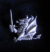 Centre Crest Brooch