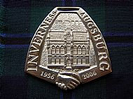 Twinning medal
