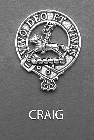 Clan Craig Brooch