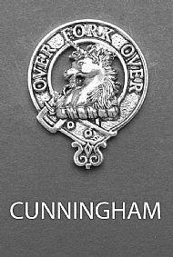 Clan Cunningham Brooch
