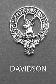 Clan Davidson Brooch