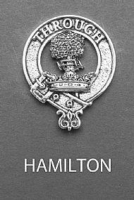 Clan Hamilton Brooch