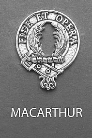 Clan MacArthur Brooch