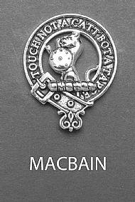 Clan MacBain Brooch