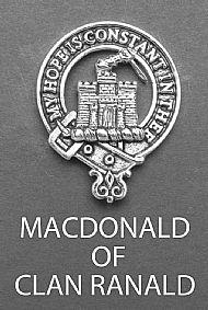 Clan Macdonald of Clanranald Brooch