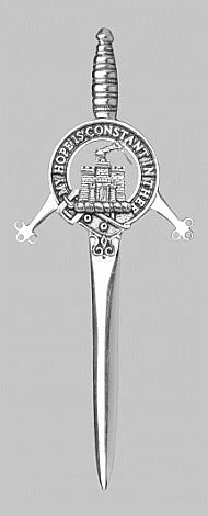 Clan Macdonald of Clanranald Kilt Pin