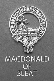 Clan Macdonald of Sleat Brooch