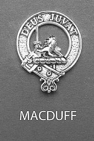 Clan MacDuff Brooch