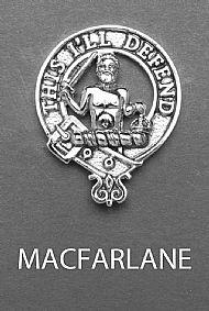 Clan MacFarlane Brooch