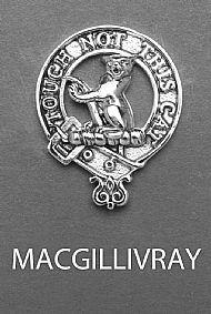 Clan MacGillivray Brooch