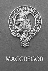 Clan MacGregor Brooch